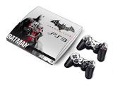 Dual Coloured Skin Stickers (Batman Arkham City) ~ PS3