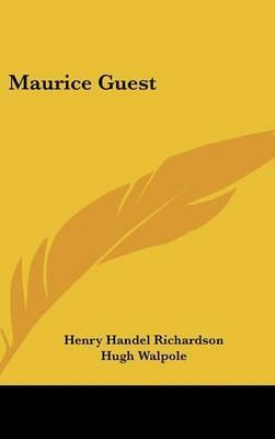 Maurice Guest by Henry Handel Richardson image