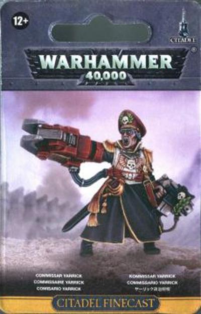 Warhammer 40,000 Commissar Yarrick image