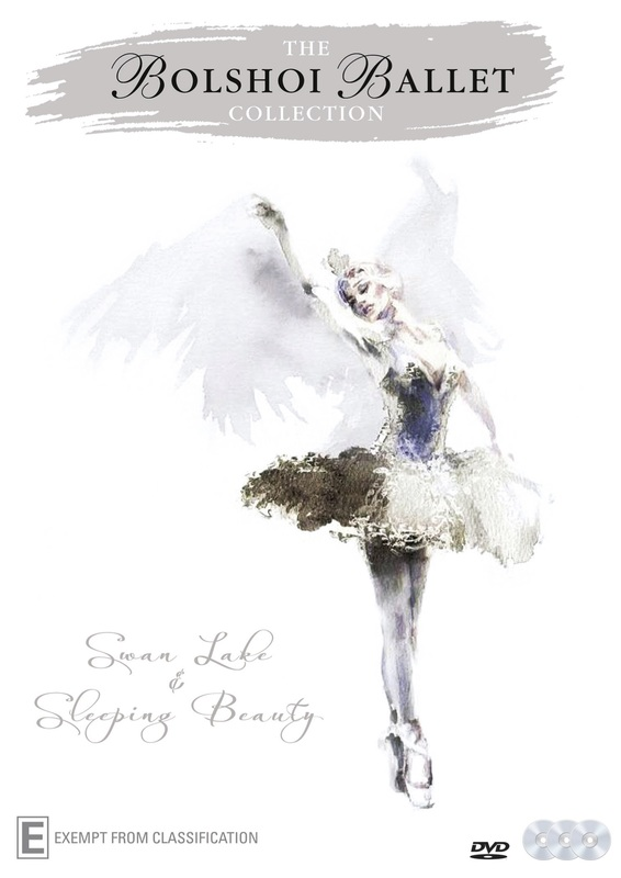 The Bolshoi Ballet Collection on DVD