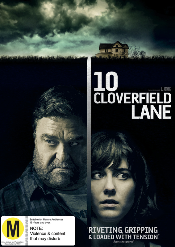 10 Cloverfield Lane on DVD