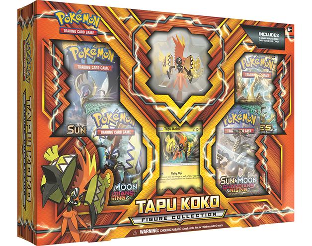 Pokemon TCG Tapu Koko Figure Collection