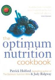 The Optimum Nutrition Cookbook by Patrick Holford image
