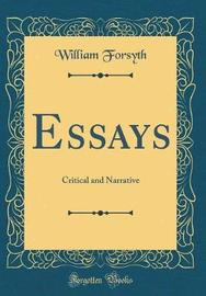 Essays by William Forsyth