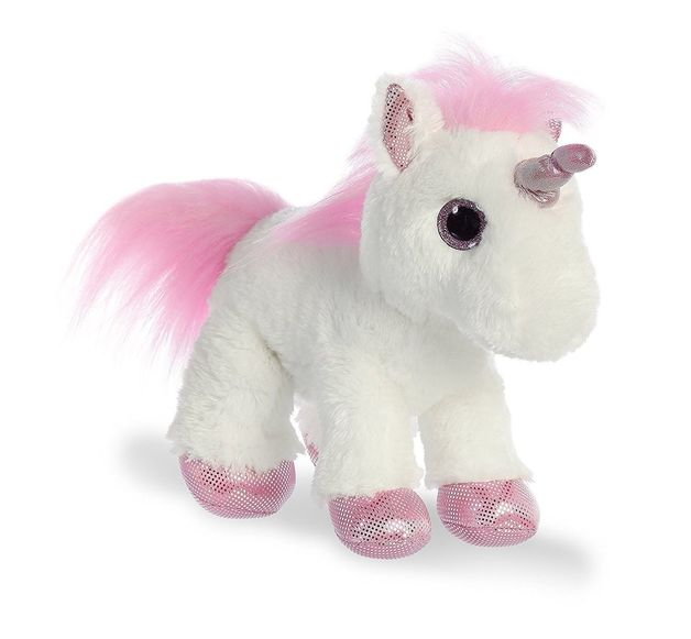 "Aurora: Pink Unicorn - 12"" Plush"