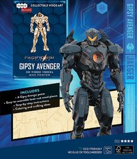Incredibuilds: Pacific Rim Uprising: Gipsy Avenger 3D Wood Model And Poster image