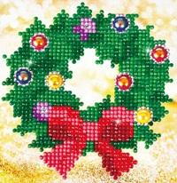 Diamond Dotz: Facet Art Kit - Christmas Wreath