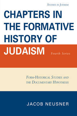 Chapters in the Formative History of Judaism by Jacob Neusner image
