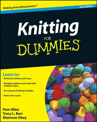 Knitting for Dummies by Pam Allen image