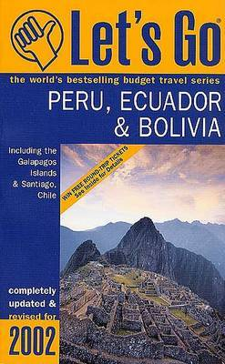 Let's Go Peru & Ecuador 2002 by Let's Go Inc image