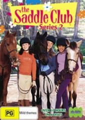 Saddle Club, The - Series 2 (4 Disc Set) on DVD