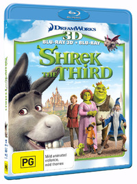 Shrek the Third - 3D Combo on Blu-ray, 3D Blu-ray