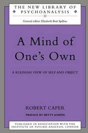 A Mind of One's Own by Robert A Caper image