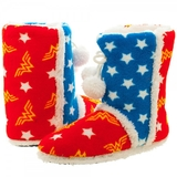 DC Comics Wonder Woman Boot Slippers (Medium)