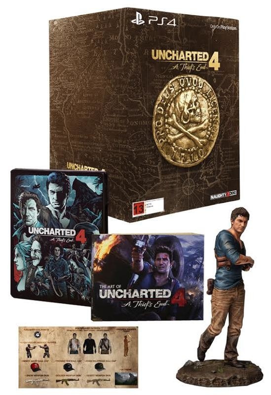 Uncharted 4: A Thief's End Libertalia Collector's Edition ...