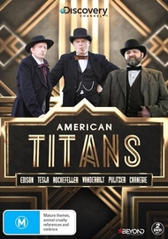 American Titans on DVD image