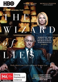 The Wizard of Lies on DVD image