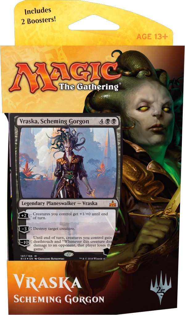 Magic The Gathering Planeswalker Deck: Vraska, Scheming Gorgon image