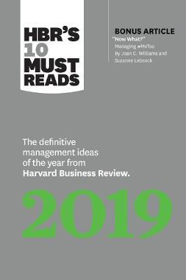 HBR's 10 Must Reads 2019 by Harvard Business Review