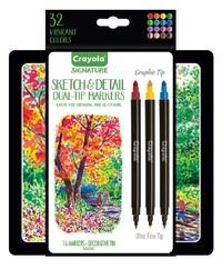 Crayola: Signature - Detailing Gel Pens (20pc)