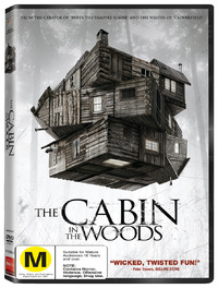 The Cabin in the Woods on DVD image