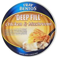 Fray Bentos Chicken & Mushroom 'Deep Fill' Pie (475g)