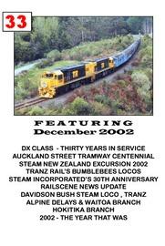NZ Rail Scene: Vol 33 on DVD