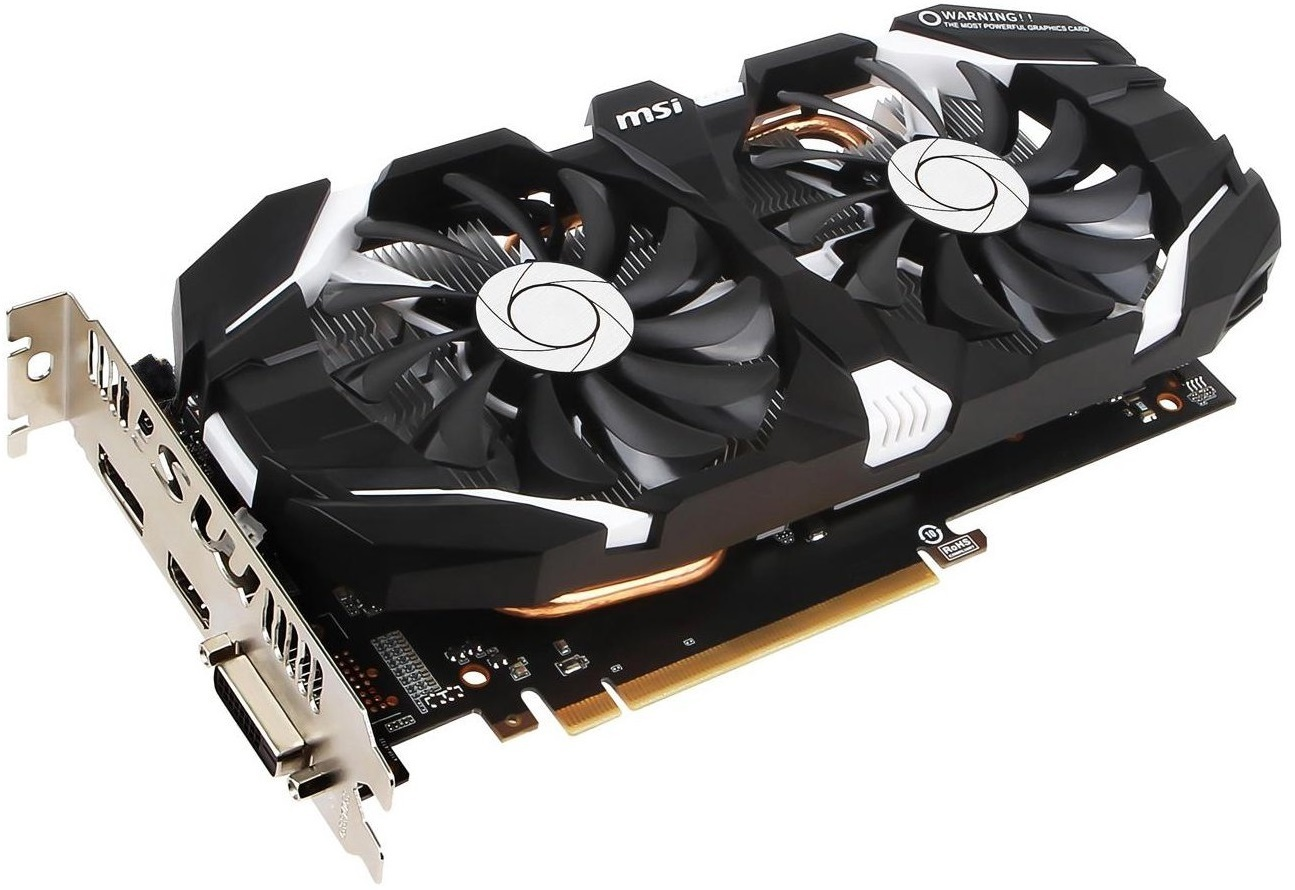 MSI GeForce GTX 1060 6GB OC V2 Graphics Card image