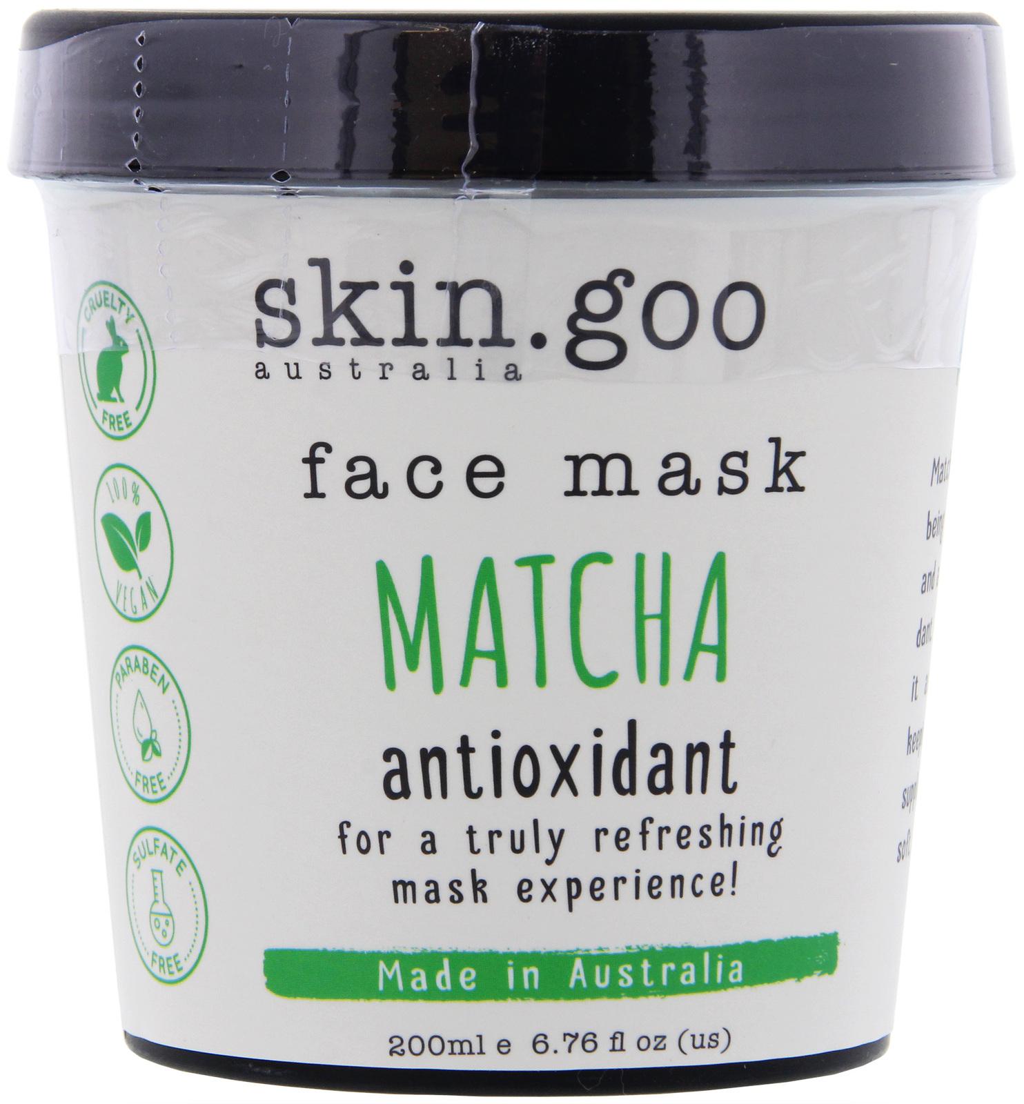 Skin Goo: Face Mask - Matcha (200gm) image