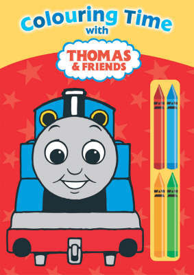 Colouring Time with Thomas and Friends image
