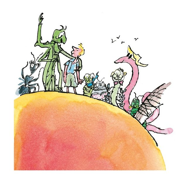 Buy james the giant peach greeting card at mighty ape nz museums galleries greeting card james the giant peach m4hsunfo