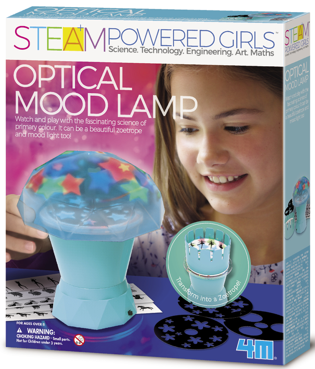 4M STEAM Girls: Optical Mood Lamp Science Kit