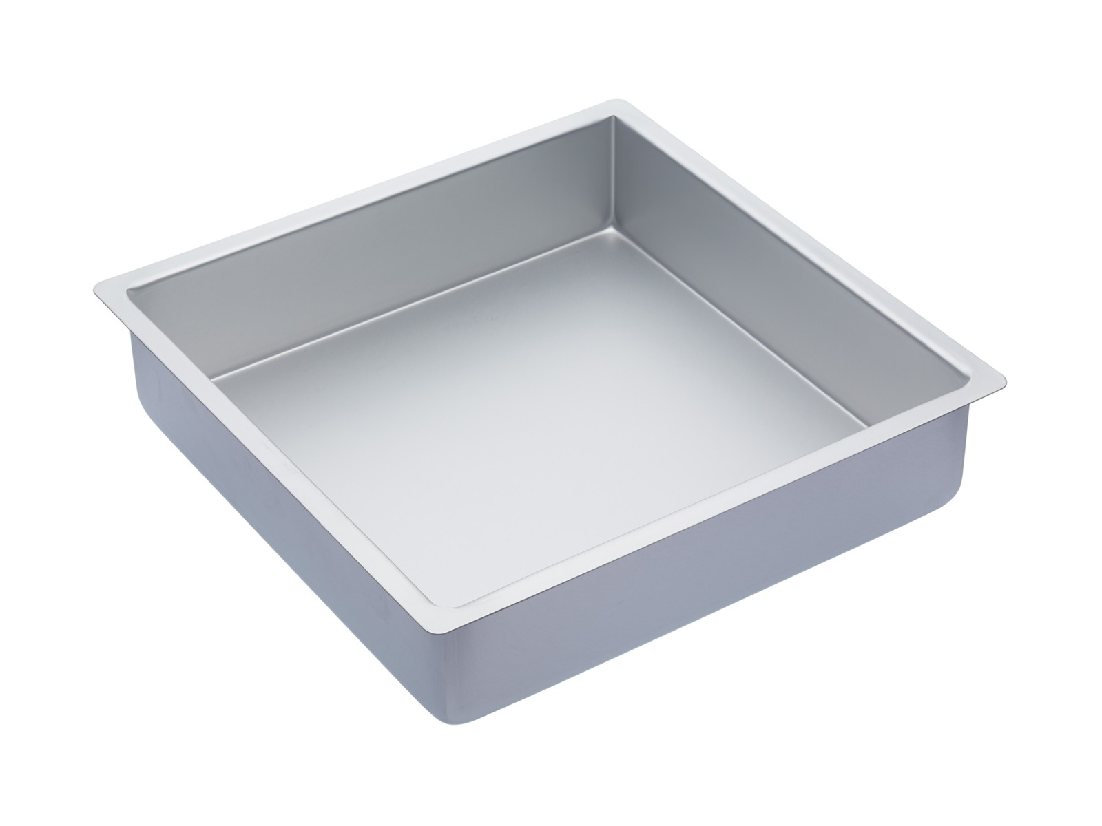 MasterClass: Silver Anodised Square Deep Cake Pan (30.5cm) image