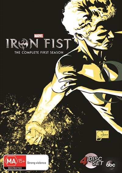 Iron Fist on DVD