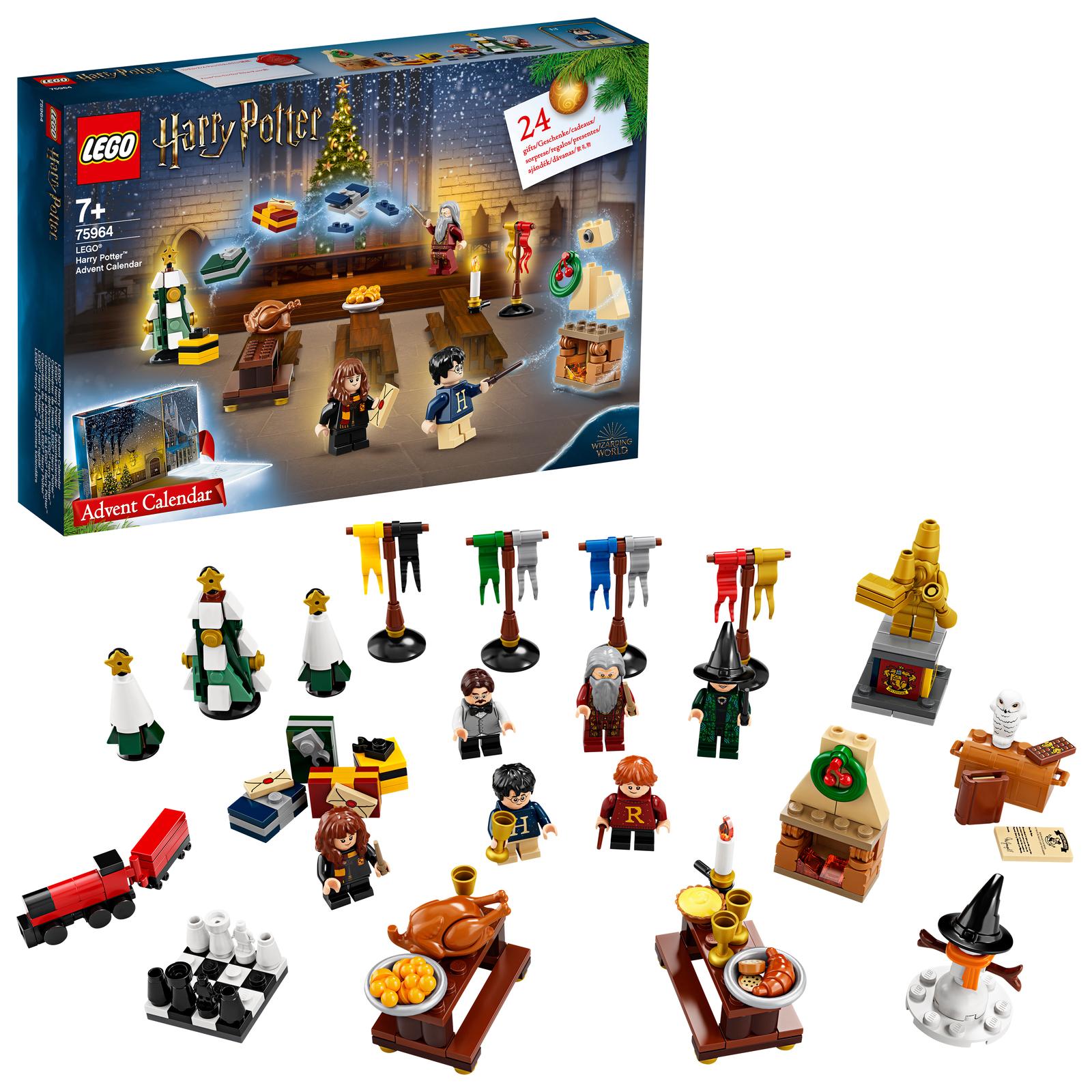 Lego Weihnachtskalender 2019.Lego Harry Potter 2019 Advent Calendar 75964 Images At