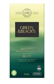 Green & Black's Smooth Dark Chocolate - Mint (90g)