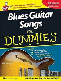 Blues Guitar Songs for Dummies image