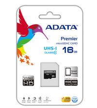 16GB ADATA Premier - MicroSDHC Card (Class 10 UHS-I) image