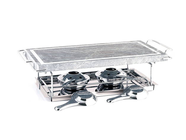 Hot Stone Grill - 7 Piece Set   at Mighty Ape NZ