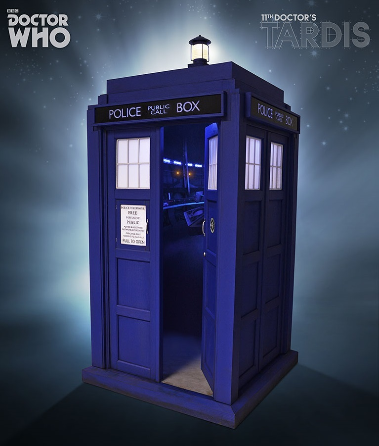Doctor Who 11th Doctor TARDIS 16 Scale Diorama image ... & Doctor Who: 11th Doctor TARDIS 1:6 Scale Diorama | at Mighty Ape NZ