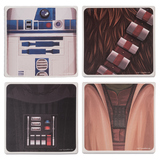 Star Wars Ceramic Coaster - 4-Pack