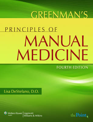 Greenman's Principles of Manual Medicine by Lisa DeStefano, DO image