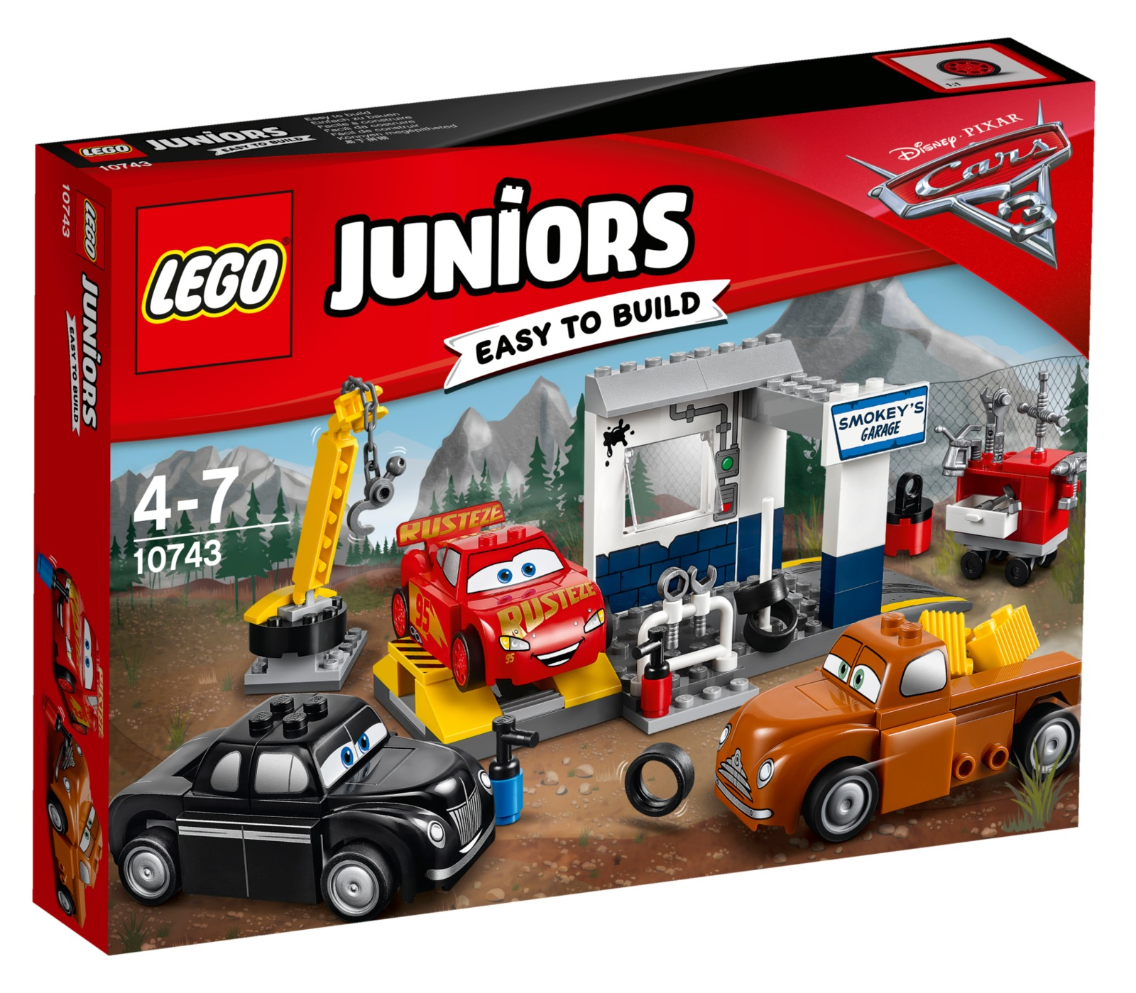 LEGO Juniors - Smokey's Garage (10743) image