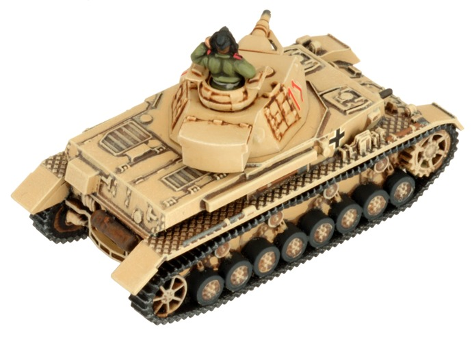 Flames of War: Afrika Korps - Panzer IV Tank Platoon image