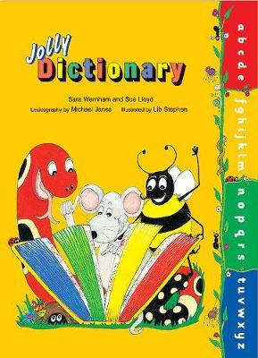 Jolly Dictionary (Hardback edition in print letters) by Sara Wernham image