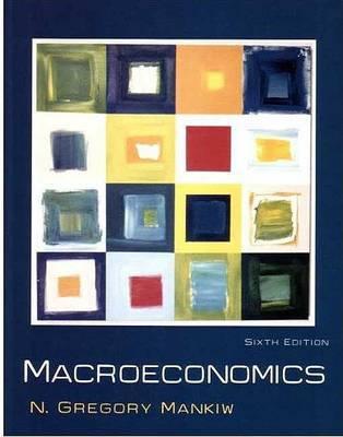Macroeconomics by Mankiw image