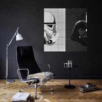 Ixxi: Star Wars Stormtrooper / Darth Vader Wall Art - 80cm X 80cm image