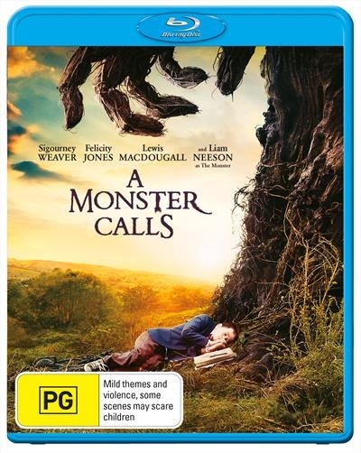 A Monster Calls on Blu-ray