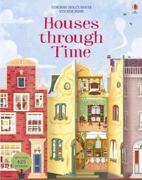 Houses through Time Sticker Book by Struan Reid image
