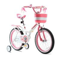 """RoyalBaby: Jenny G-4 - 18"""" Girl's Bike (White)"""